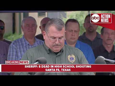 Police chief discusses school shooting in Santa Fe, Texas