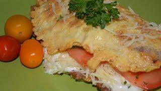 Готовим Бризоль. Видео рецепт.(Подпишитесь на вкусный канал, чтобы не пропустить новые рецепты. 0,5 кг фарша 150 гр тертого сыра 2 помидора..., 2014-10-26T14:04:27.000Z)