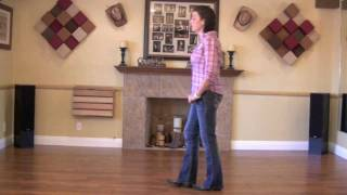 Footloose (Part 1) Line Dance Instruction  Choreography by Kerry Kick
