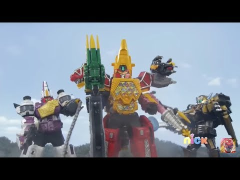 Power Rangers Dino Super Charge Episode 22 In Hindi - Megazord Fight| Here Comes Heximas