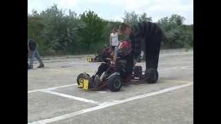 Первые школьные соревнования по картингу РФ Республики Крым