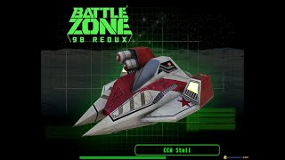 BattleZone 98 Redux gameplay (PC Game, 1998)