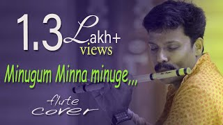 Minugum minna minuge | Filim Oppam | [ Flute song] By, Dileep babu .B