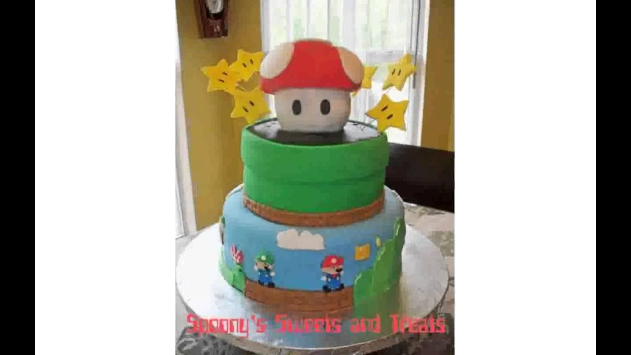 Super Mario Bros Cake Decorations YouTube