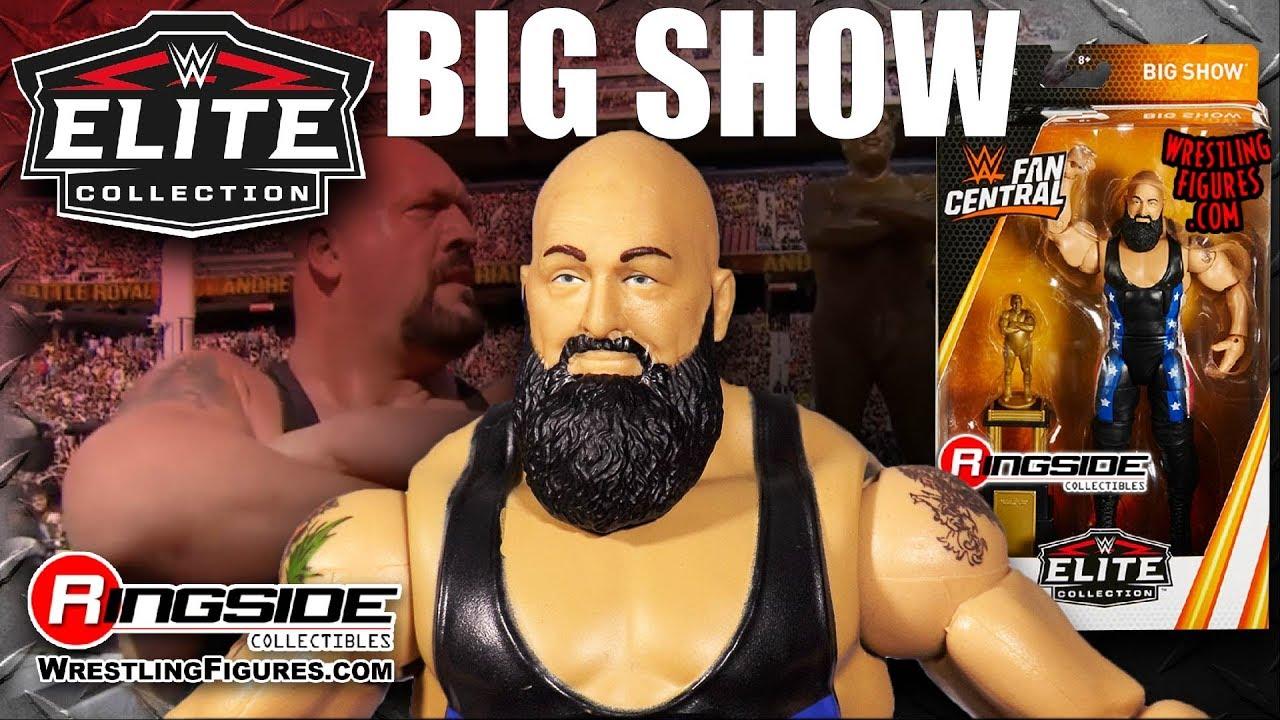 WWE Mattel Fan Central Elite Collection Akira Tozawa Wrestling Action Figure New