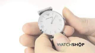 emporio armani ladies gianni t bar watch ar1682