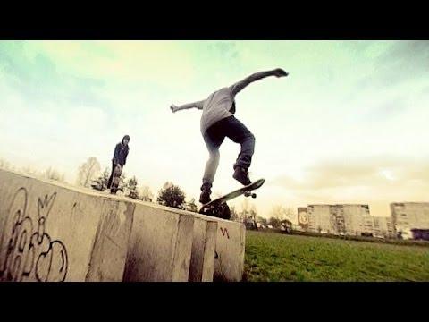 Скейтеры в Минске - насколько больно?