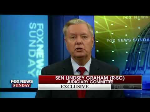 Lindsey Graham outraged at Sessions DoJ on terror, wants two Clinton special prosecutors