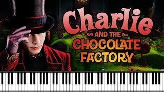 Synthesia [Piano Tutorial] Charlie And The Chocolate Factory - Theme