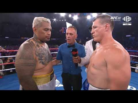 Марк Хант – Пол Галлен / Mark Hunt vs Paul Gallen
