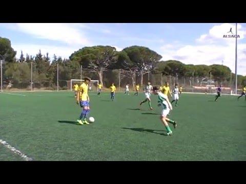 "ALSACA2016 Balón de Cádiz C.F. ""B"" - Atlético Sanluqueño C.F 1er Tiempo Jornada 26 Temporada 2015-16"