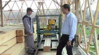 изготовление клееного бруса. Клееный брус от Holzhaus.(, 2013-04-23T05:21:06.000Z)