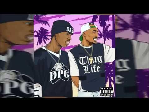 2Pac & Daz Dillinger - DPG Thug Life (Full Mixtape) 2017