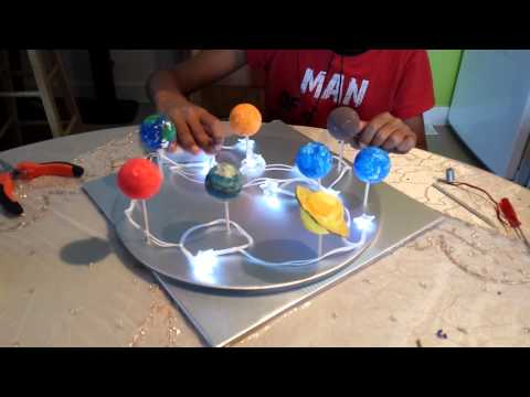 How to make a Solar System model (part 2) - YouTube