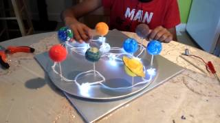 How to make a Solar System model (part 2)