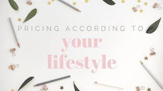 Pricing according to your lifestyle