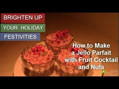 how to make jello parfait