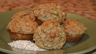 Banana Oat Muffins (healthy And Delicious)