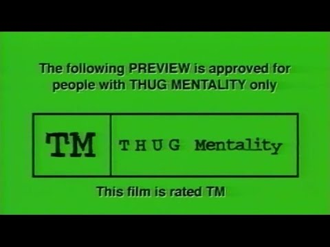 Krayzie Bone - Thug Mentality (720p Music Video)