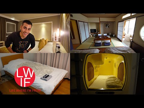 Where to Stay in Japan | Hotel, Ryokan, Capsule, AirBNB, Guest House, Hostel...