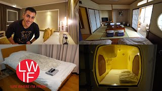 Gambar cover Where to Stay in Japan | Hotel, Ryokan, Capsule, AirBNB, Guest House, Hostel...