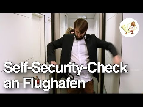 Self-Security-Check ab sofort am Frankfurter Flughafen [Postillon24]