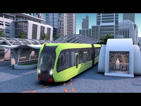 world's-first-smart-rapid-rail-bus-starts-test-run-in-central-china's-hunan
