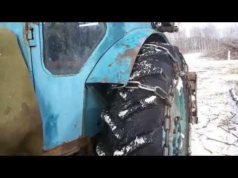 Тормоза на тракторе Т-40