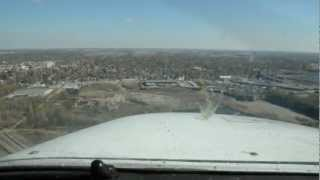 My Windy Arrival Into Findlay (KFDY)