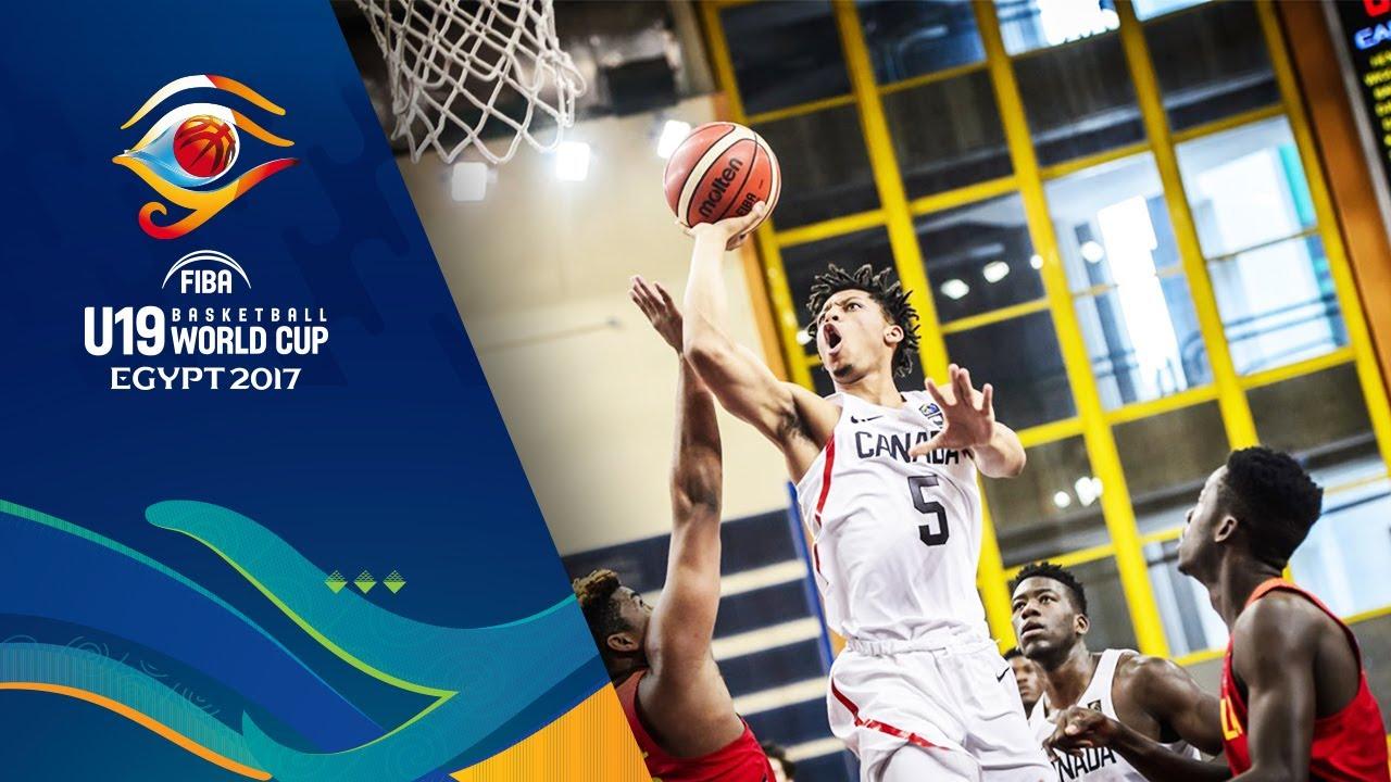 Canada v Angola - Highlights - Round of 16 - FIBA U19 Basketball World Cup 2017