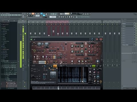 &39;My sign&39; playing with Harmor  FL Studio Harmor Sound Design  Production
