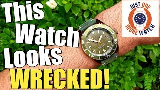 THIS WATCH LOOKS WRECKED!! Spinnaker Wreck Review