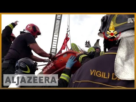 🇮🇹 Italy bridge: 39 dead as rescuers search for survivors | Al Jazeera English