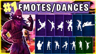 FORTNITE New RAVEN Skin | Dances/Emotes Showcase (15+) | Fortnite Season 3