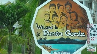 Driving around Punta Gorda, Belize