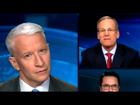 When Anderson Cooper Cocks His Head This Much, You Know Somebody's Full Of S--t