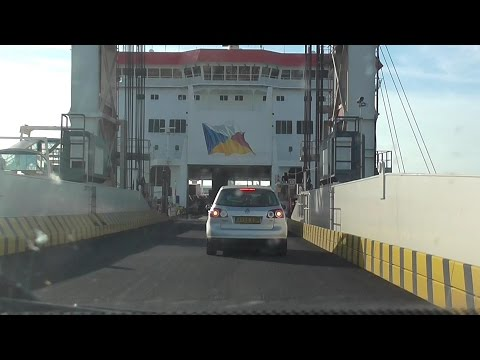 P&O Ferries - Calais to Dover on the Pride of Burgundy