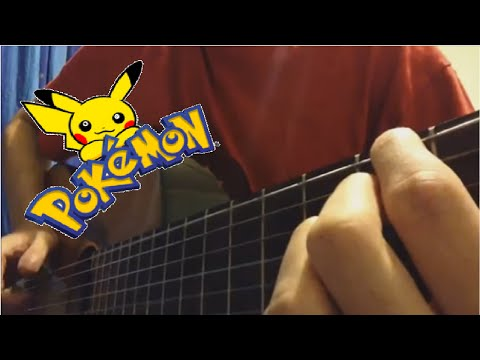 Pokémon Theme Song (Fingerstyle Guitar Cover) [TABS]