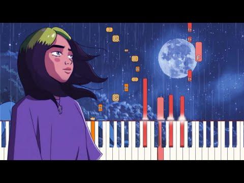 my future - Billie Eilish | Piano Tutorial (Synthesia)