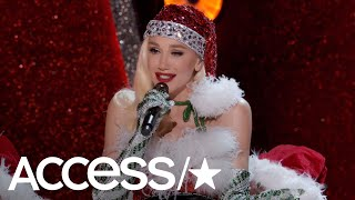 Gwen Stefani Dishes On Performing With Blake Shelton For Her Christmas Special | Access