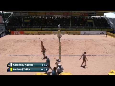 CarolinaAgatha LarissaTalita 2ª Etapa   Quartefinal  OPENNACIONAL Brasilia