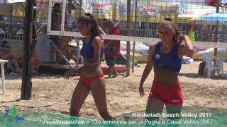 03-08-2017: La Puglia a Casal Velino (SA) per le Kinderiadi 2017 di Beach Volley (Clip Video)