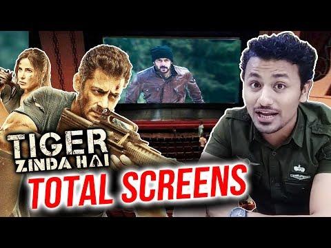 Tiger Zinda Hai Total SCREEN COUNT   Salman Khan   Katrina Kaif