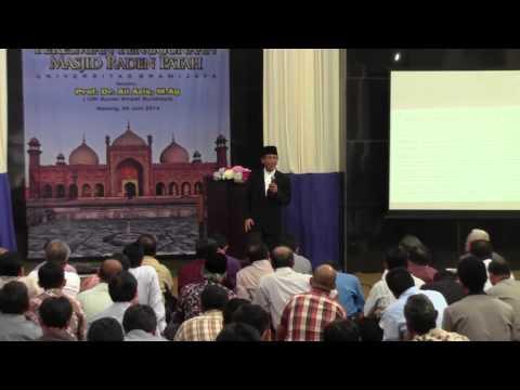 Peresmian Penggunaan Masjid Raden Patah UB Bag. 3