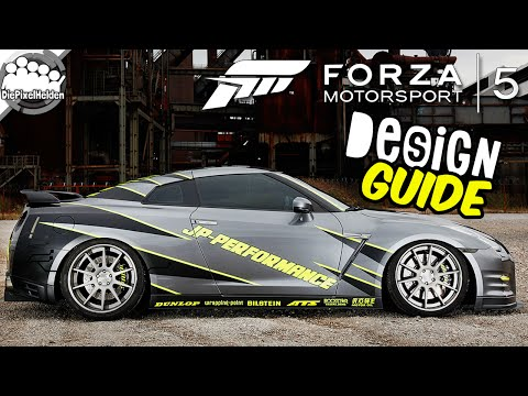FORZA MOTORSPORT 5 #145 - JP-Performance Nissan GT-R - Design Guide - Let's Play Forza Motorsport 5