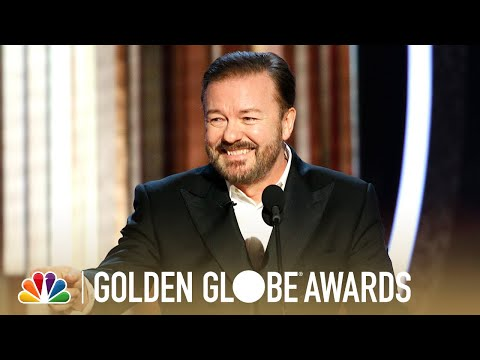 Raphael - Ricky Gervais' Hilarious Golden Globes Monologue Pokes Fun At EVERYONE!