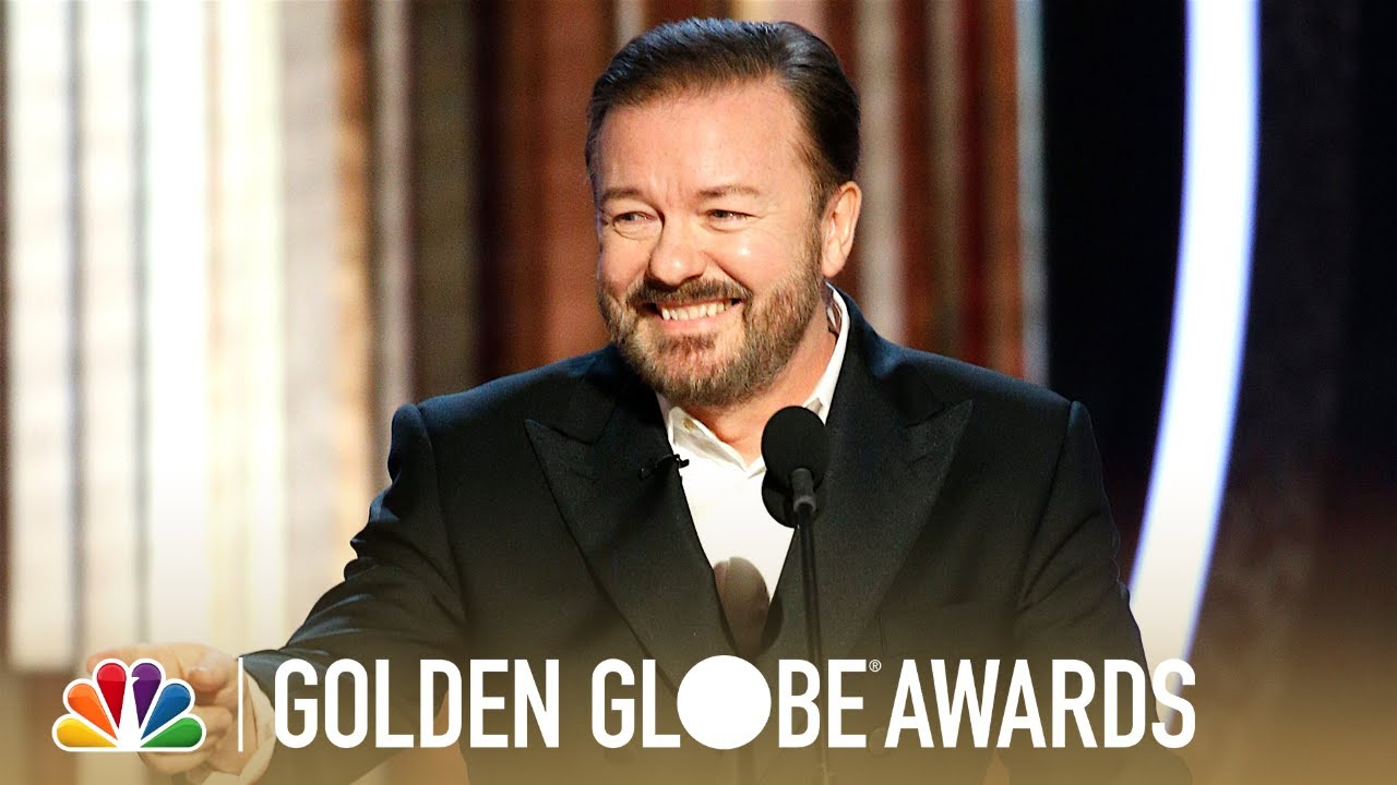 Ricky Gervais' slays Hollywood elites, shocks audience with actual comedy