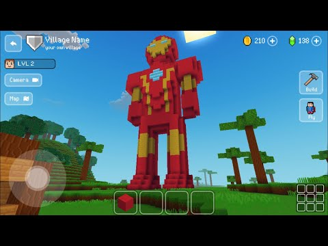 Block Craft 3D : Building Simulator Games For Free Gameplay #310 (iOS & Android) | Iron Man