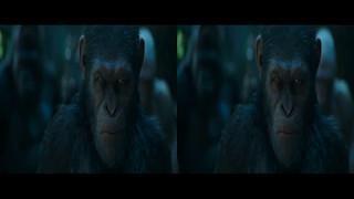 Планета обезьян: Война. Русский трейлер (4) 3D 2K