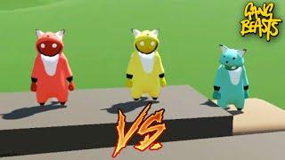 Gang Beasts Online - A BATALHA do PIKACHU!!!